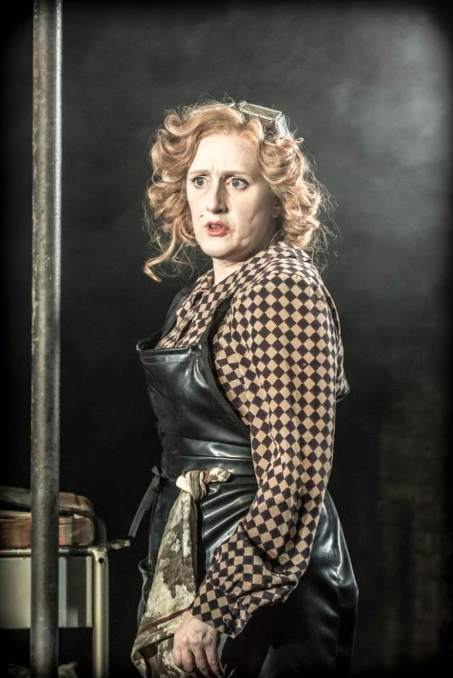 Jenna Russell plays Penelope Pennywise in Urinetown (Picture: Johan Persson)