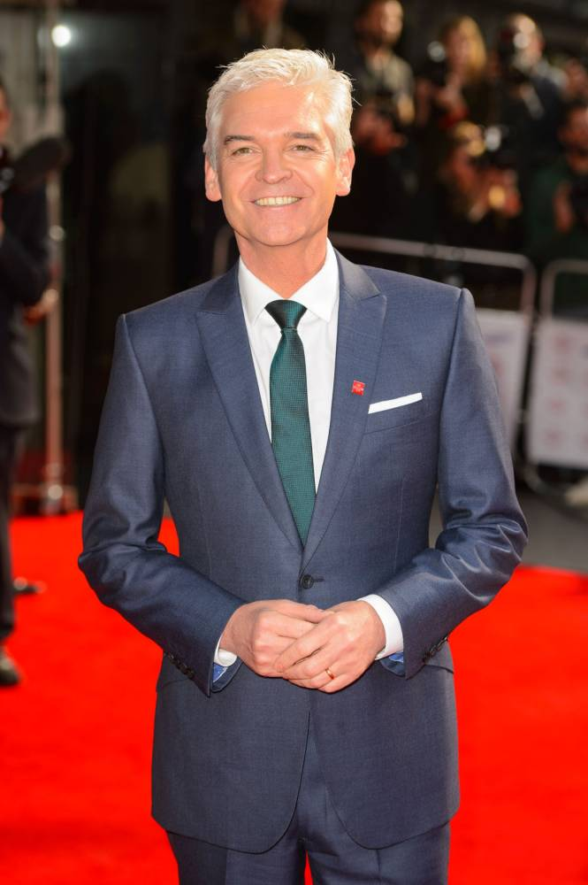 Phillip Schofield arriving at the Prince's Trust Celebrate Success Awards, at the Odeon, Leicester Square, in central London. (Picture: PA)