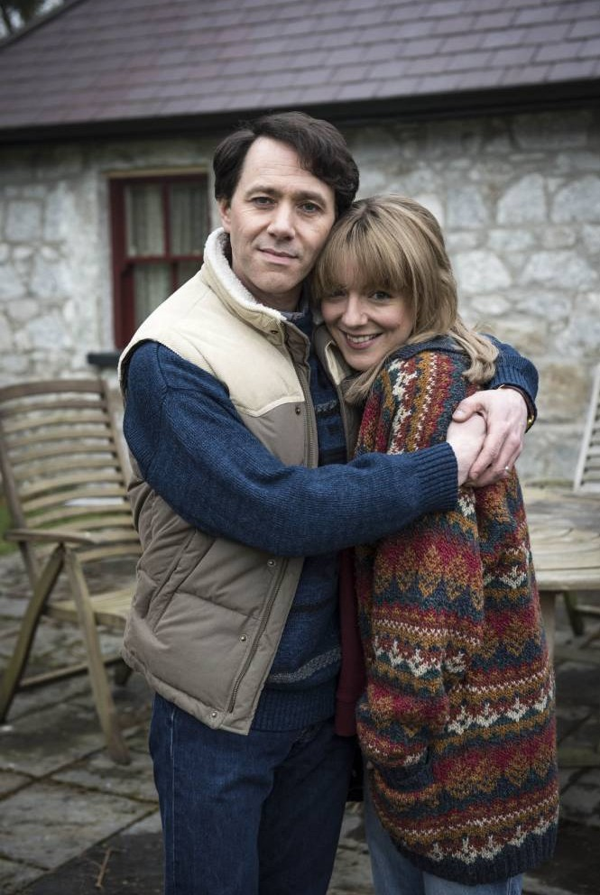 Reece Shearsmith and Sheridan Smith star in The Widower (Picture: ITV)