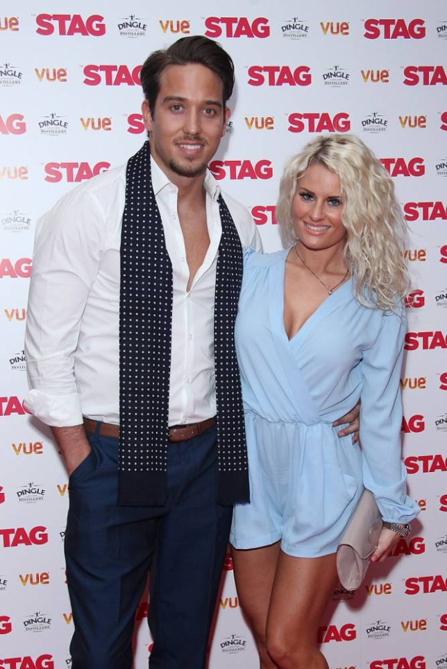 TOWIE's James Locke and Danielle Armstrong