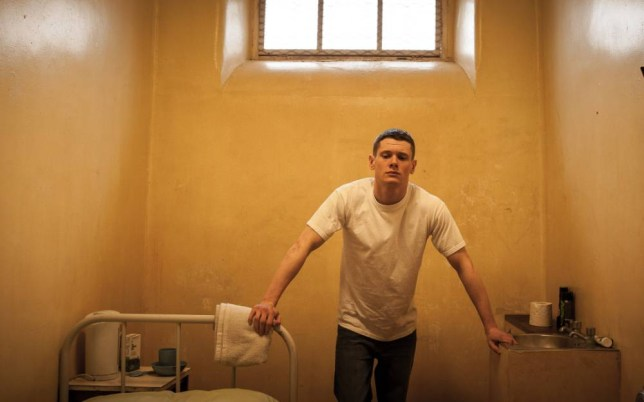 Knock-out performance: Jack O'Connell plays young convict Eric Love (Picture: Supplied)