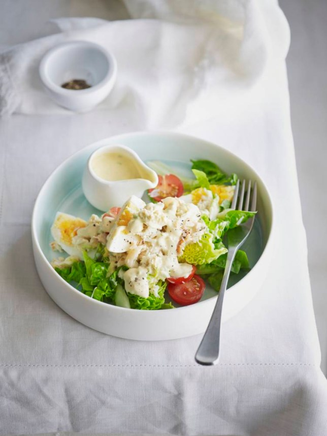 Try making mayonnaise from scratch for Louise Pickford's crab salad (Picture: Ian Wallace)