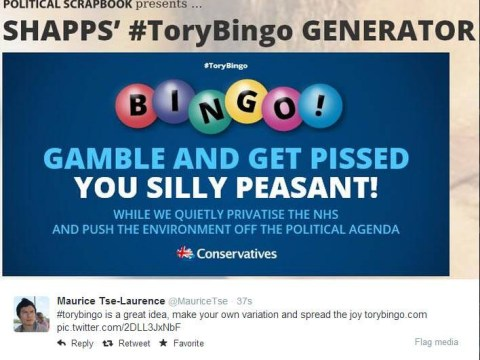 Pictures: The best Twitter spoofs of the Tories' beer and bingo ad