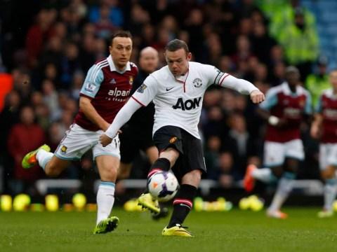 Wayne Rooney hits stunning halfway line goal in front of David Beckham at West Ham