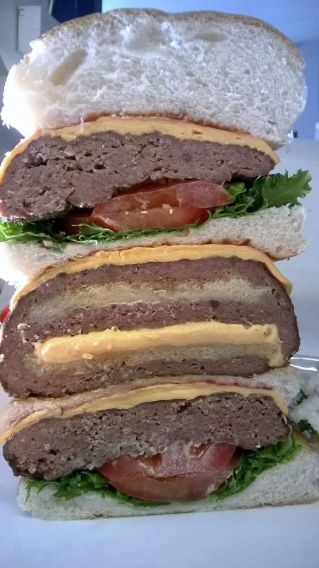 'Ulti-Meatum' , burger