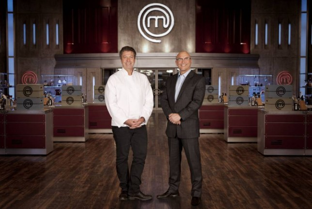 John Torode and Gregg Wallace - back in the kitchen for Masterchef (Picture: Shine TV)