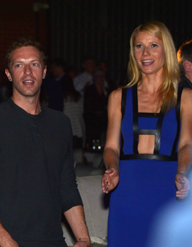 CULVER CITY, CA - JANUARY 28:  Singer/Songwriter Chris Martin (L) and actress Gwyneth Paltrow attend Hollywood Stands Up To Cancer Event with contributors American Cancer Society and Bristol Myers Squibb hosted by Jim Toth and Reese Witherspoon and the Entertainment Industry Foundation on Tuesday, January 28, 2014 in Culver City, California.  (Photo by Charley Gallay/Getty Images for Entertainment Industry Foundation)