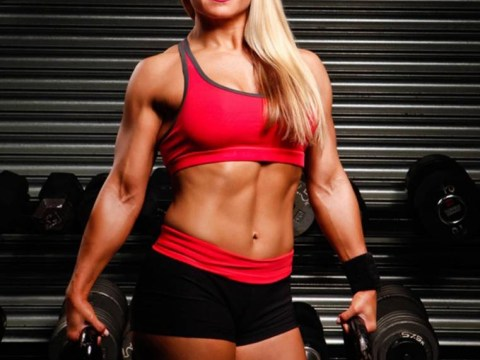 A picture of obesity: NHS tells bodybuilder she must lose weight and exercise more…