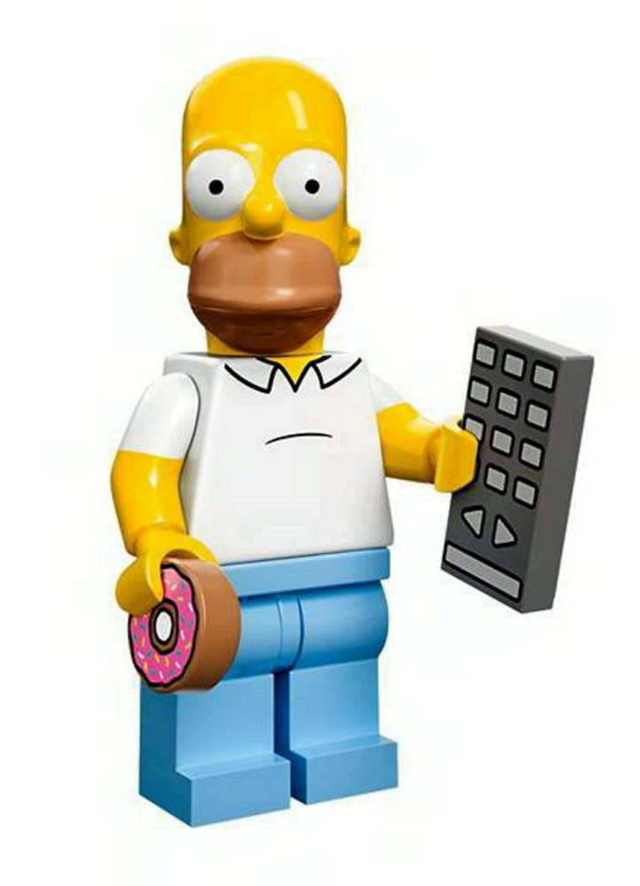 It's those 25th anniversary Simpsons Lego figures you've been waiting for
