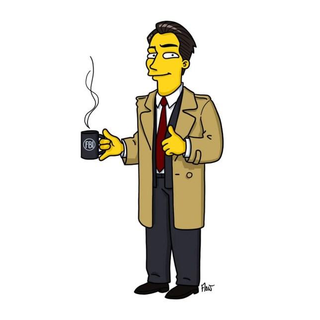 Twin Peaks vs Simpsons