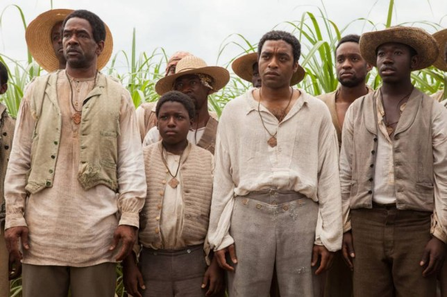 The film 12 Years A Slave (pictured) highlighted the issue of slavery