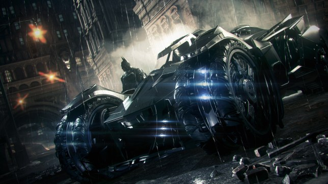 Batman: Arkham Knight - man and machine