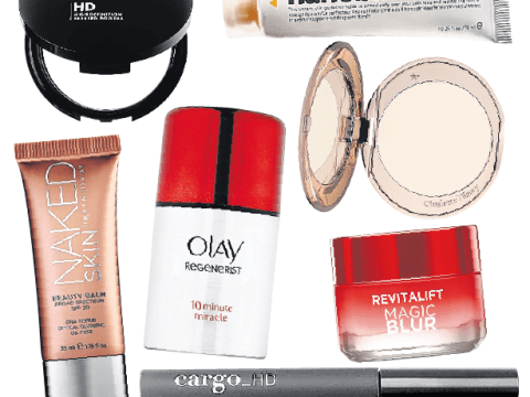 Skin blur creams and powders from L'Oréal, Urban Decay and Olay create the illusion of perfection