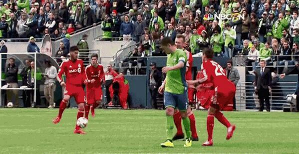 Ouch! Clint Dempsey banned after slapping defender in the testicles