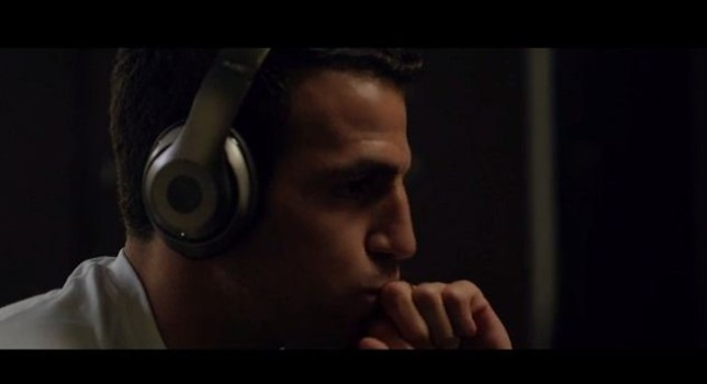 Cesc Fabregas stars in the new Beats by Dre advert (Picture: YouTube)