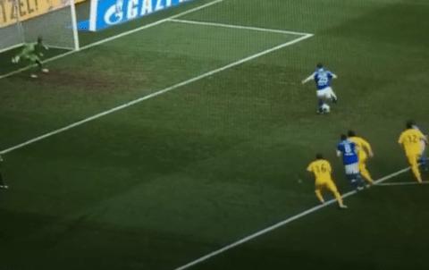 Oh dear! Check out Klaas Jan Huntelaar's hilariously bad Schalke penalty