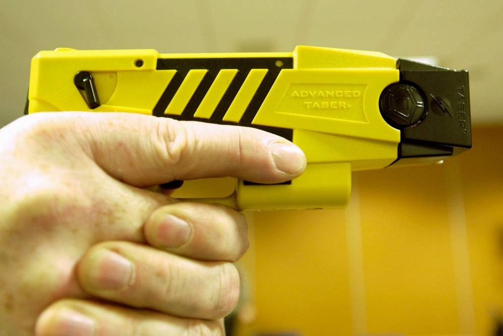 Rise of the stun gun: Use of Tasers by police officers is up by over 25%