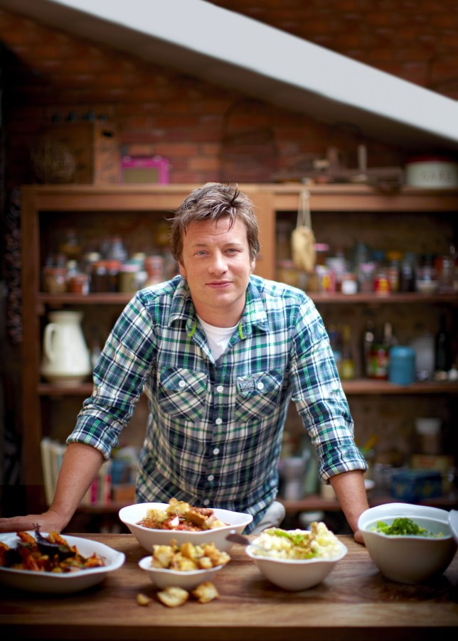Naked chef at sea: Jamie Oliver will open his first restaurant on a cruise ship (Picture: Royal Caribbean)
