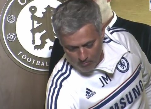 Jose's nuts! Mourinho gives journalists something to chew on in press conference
