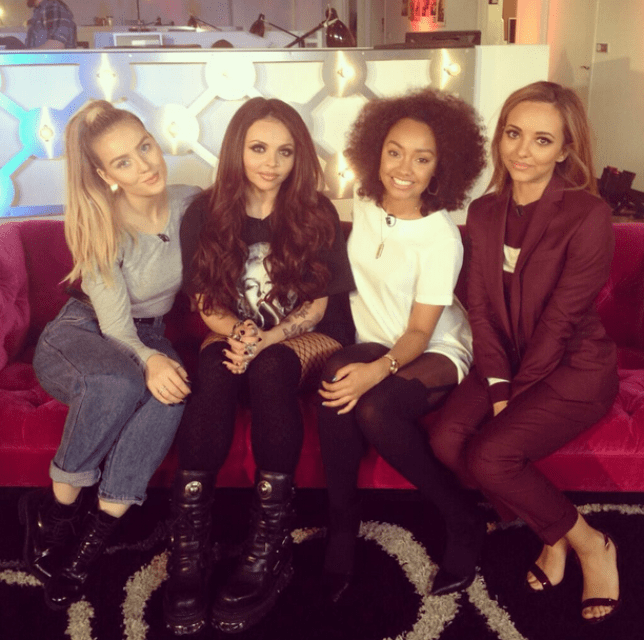 Little Mix are well aware of the erotic fan fiction written about them (Picture: Little Mix Twitter)