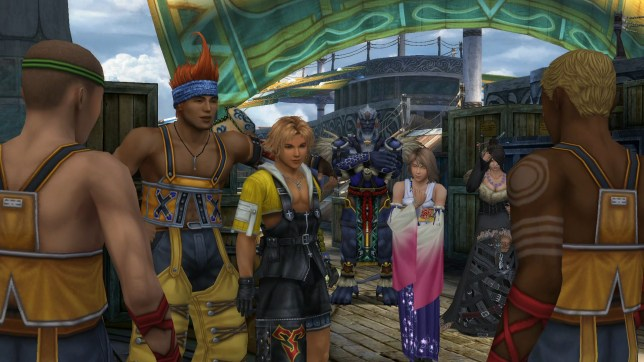 Final Fantasy X|X-2 HD Remaster (PS3) - if only the voice-overs had been remastered