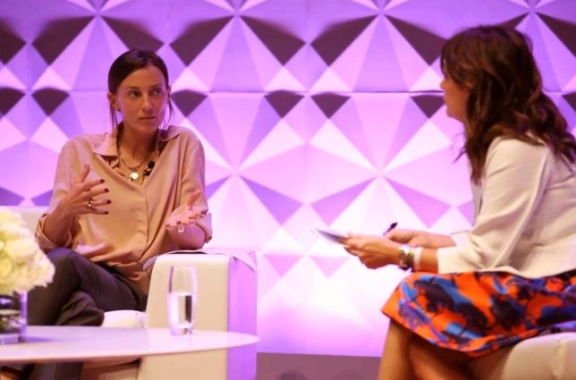 Celine's Phoebe Philo talks the Philo factor with Vogue's Alexandra Shulman (Picture: YouTube)