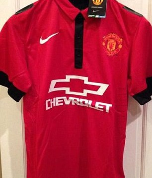 Is this Manchester United's leaked new Chevrolet  home kit?