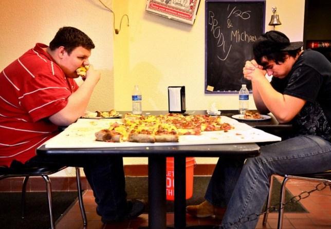 'Da Big Kahuna' challenge, pizza