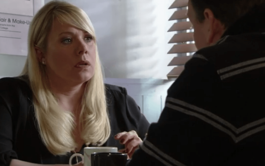 Did Sharon call the police on Ronnie? (Picture: BBC)