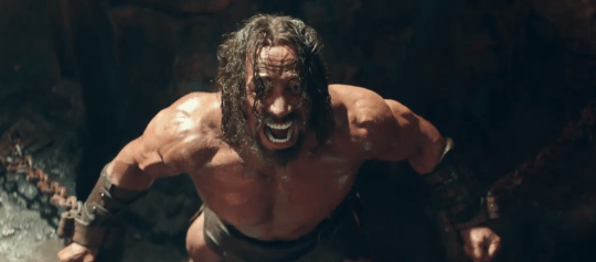 Dwayne Johnson takes on the role of Hercules (Picture: Paramount Pictures)