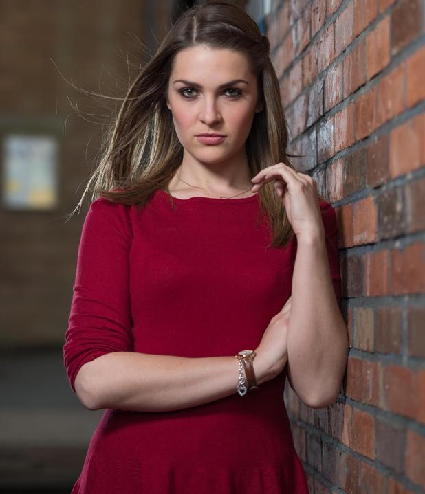 Anna Passey as Hollyoaks schemer Sienna Blake (Picture: Lime Pictures)