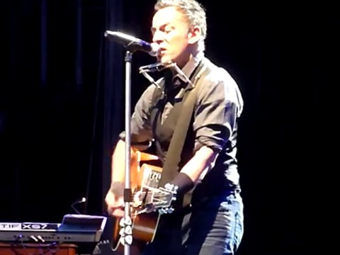 Here's what happened when Bruce Springsteen covered Lorde's Royals