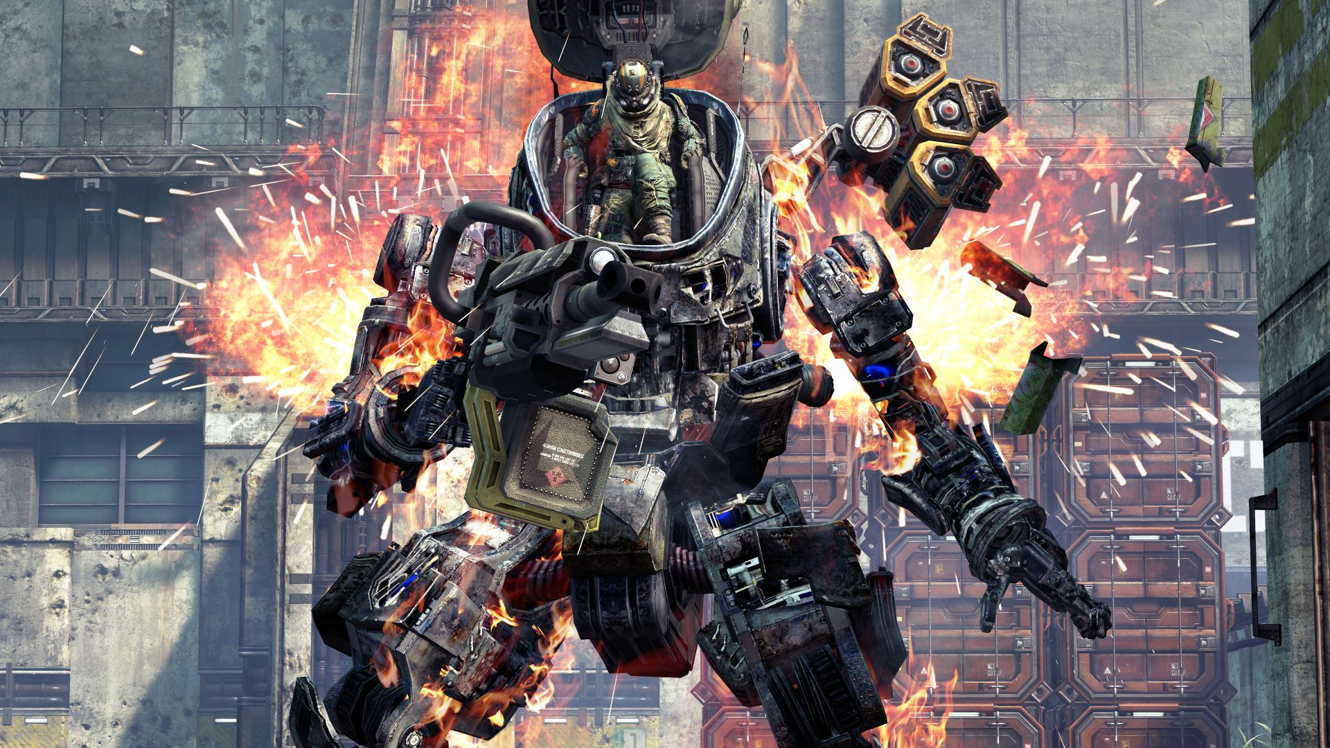 Titanfall – this is not an Xbox 360 screenshot, there are no Xbox 360 screenshots