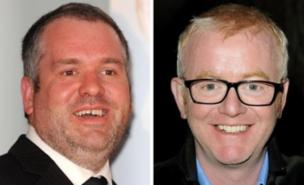 Moyles and Evans fight it out for breakfast listeners
