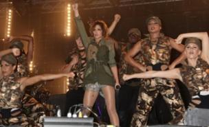 Cheryl Cole performed a high-energy set in Bangor (PA)