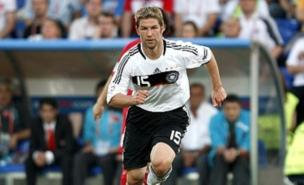 Thomas Hitzlsperger is Avram Grant's first signing (PA)