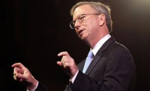 Eric Schmidt insists Google TV is not competition for broadcasters (PA)
