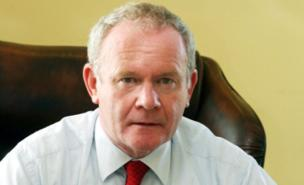 Martin McGuinness wants to become head of state in Ireland (PA)