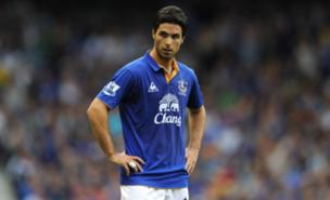 Mikel Arteta was a real favourite with Everton fans (PA)