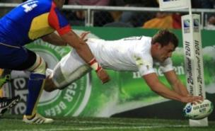 Mark Cueto has defended the scandals that have dogged England in New Zealand (PA)