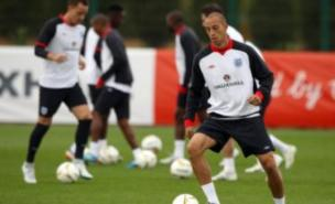 Bobby Zamora looks set to start alongside Wayne Rooney for England against Montenegro. (PA)