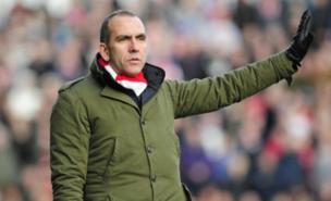 Paolo Di Canio saw Swindon beat Wigan 2-1 (PA)