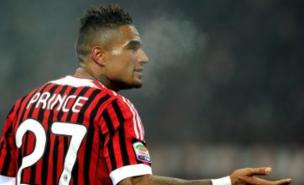 Kevin-Prince Boateng's girlfriend says their active sex life is to blame for his injury problems. (Photo by Claudio Villa/Getty Images)