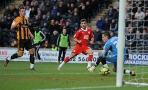 Matt Tubbs scored Crawley's winner (PA)