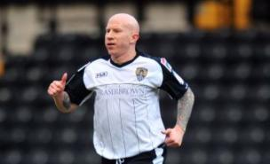 Notts County's Lee Hughes