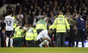 Fabrice Muamba received extensive treatment on the pitch (PA)