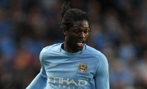 Emmanuel Adebayor could move to Liverpool this summer with Adam Johnson (PA)