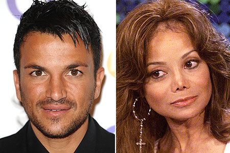 Andre and La Toya in PR double act