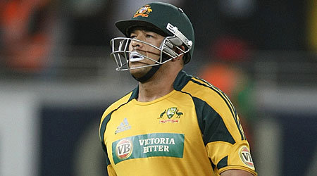 Andrew Symonds is heading home after misbehaving