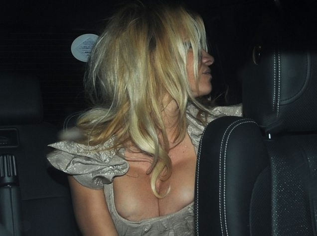 Sheer Genie-us: Aladdin star Pamela Anderson seems to have made her nipples disappear